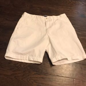 Pristine white prospect shorts from polo!!